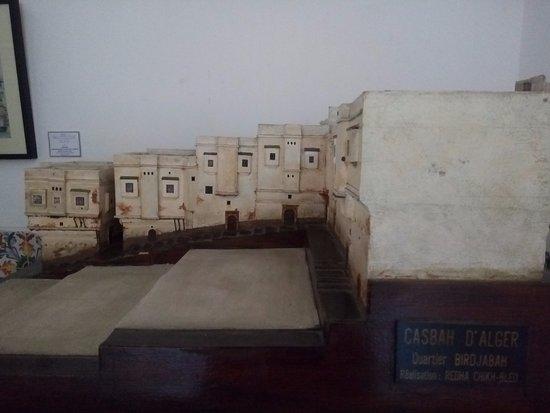 Algiers, Cezayir: Maquette de la Casbah