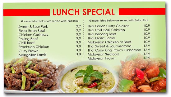 Sanctuary Point, Australia: Bamboo River Restaurants Lunch Specials