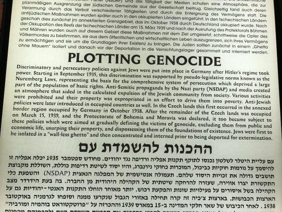 Muzeum Ghetta: Nazi's plotting Genocide