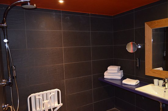 Le Refuge des Aiglons Chamonix: bathroom from another angle