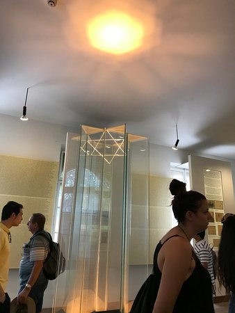 Muzeum Ghetta: Room with the thousands of Jew's names who were exterminated