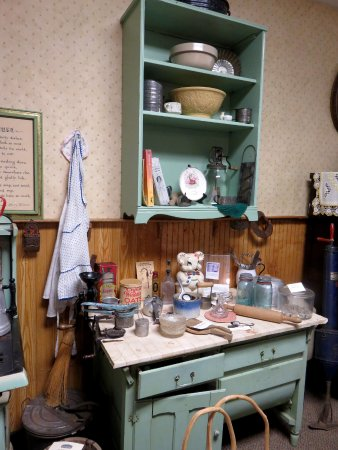 Otsego County Historical Museum: The vintage kitchen in the historical museum.