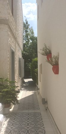 Vintage Boutique Hotel Alacati: Path to the back garden
