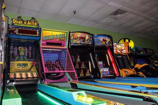 Lawrence, KS: A Few of our machines. We have about 45. Just $6.5 for a FULL hour of Fun!
