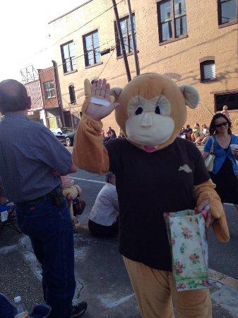 Java Joe at the parade