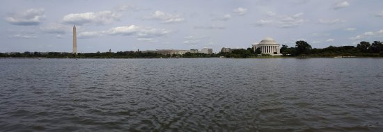 Tidal Basin: Looking out from FDR Memorial