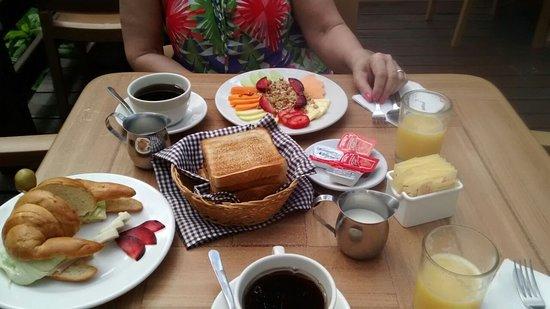 Hotel Labnah: Desayuno nutritivo!! quiero estar ahiiii!!!!