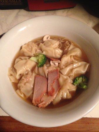 Whangaparaoa, Selandia Baru: Takeaway Wonton Soup