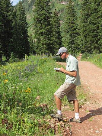 Mild to Wild Rafting and Jeep Trail Tours : JASON - tour guide, 4-wheeling pro, wild flower afficionado