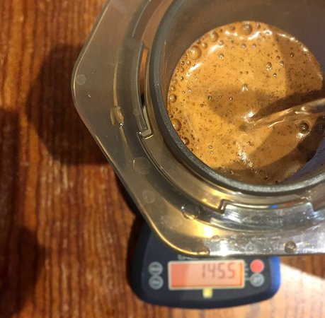 Wayne, Πενσυλβάνια: The coffee from Finca El Oasis in Colombia makes an outstanding aeropress