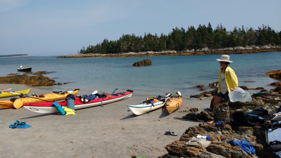 Cape LaHave Adventures: Stopping for a swim, yoga, and some lunch!