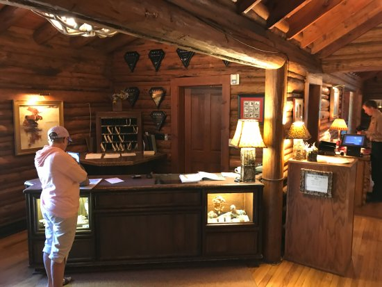 Jenny Lake Lodge: Reception/Front Desk