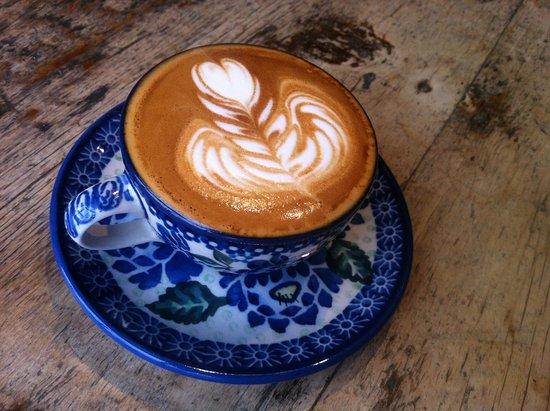 Wayne, PA: Latte art makes me smile