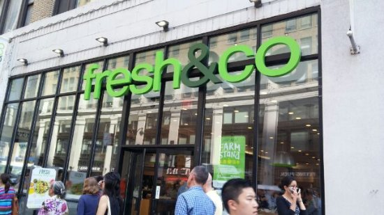 Fresh and Co.: お店の外観
