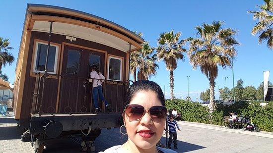 HaTachana: antigo vagão de trem que hoje funciona museu multimídia