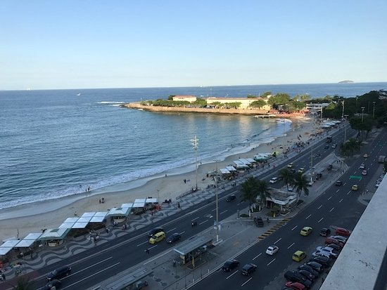 Rio Guest House ( Marta's Guest House): THE view from terrace towards Ipanema