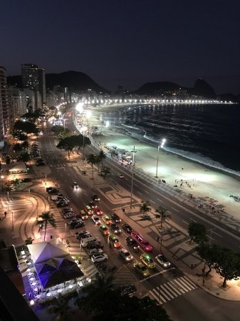 Rio Guest House ( Marta's Guest House): THE night view!!!