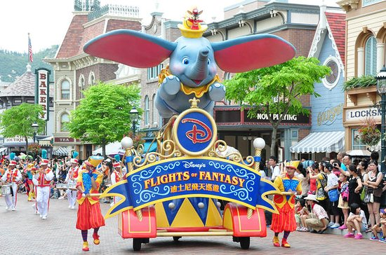Hong Kong 5-Day Tour Including Disneyland and Ocean Park