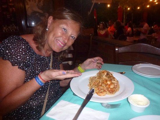 La Dolce Vita: Spaghettis con mariscos... exquisitos