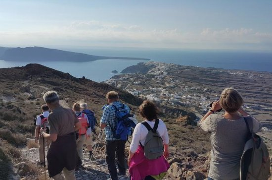 Santorini Caldera Small Group Hiking...