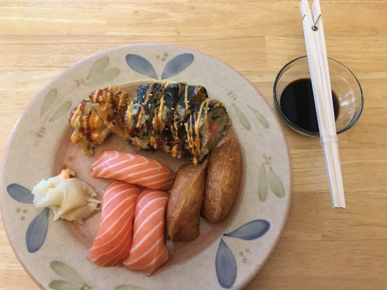 Halu Sushi: Dinner to go, but with Halu Suhi meal