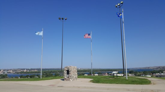 Fort Pierre, Dakota del Sud: Historic landmark