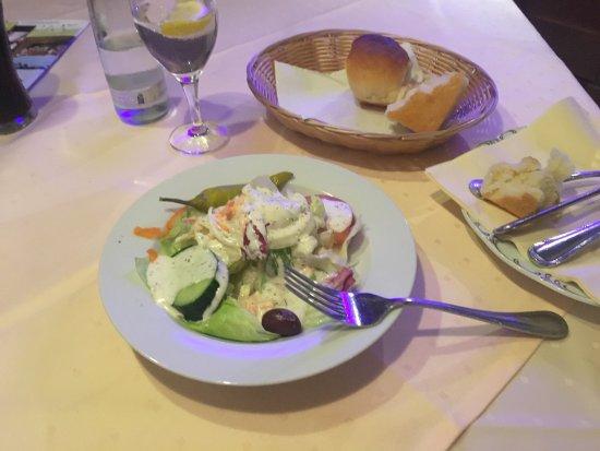 Seevetal, Alemania: Salat vorweg war schön sehr lecker und frisch....