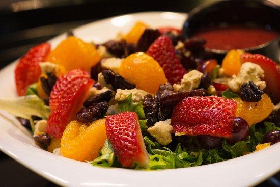 Haskell, NJ: Caribbean Strawberry Salad
