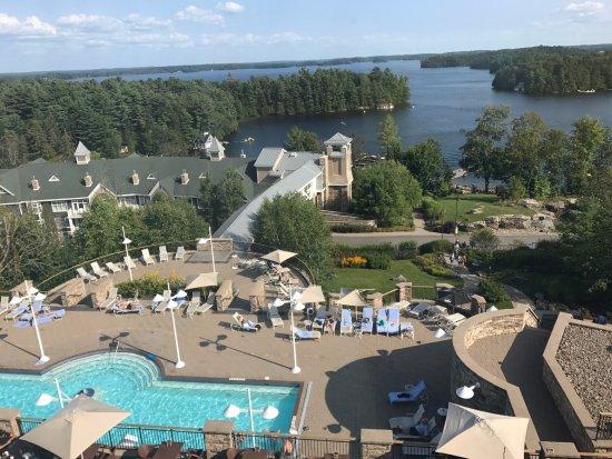 JW Marriott The Rosseau Muskoka Resort & Spa: View from suite