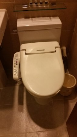 Hotel Skypark Myeongdong III: Great Bathroom With Japanese Style Bidet  Toilet