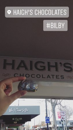 Haigh's Chocolates Glenelg: Fantastic Visit - Bilby chocolate gift.