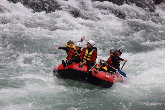 Kuma-mura, Japón: マイナスイオンいっぱいの球磨川!