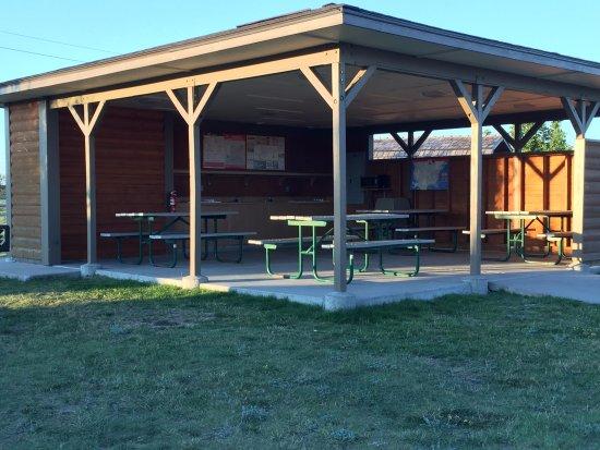 Cheyenne KOA: Pavilion for group gatherings