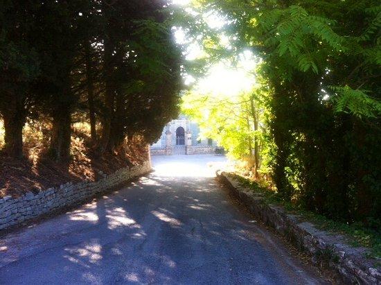 Erice, Ιταλία: Scorcio dell'ingresso ....