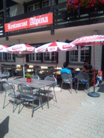 Saas-Almagell, Svizzera: Restaurant Alpina