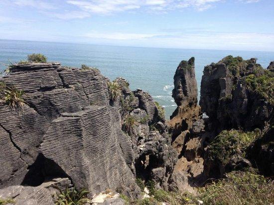 Punakaiki, New Zealand: Some of the Pancake Rocks