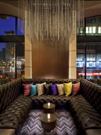 W new york union square updated 2017 prices hotel - The living room at the w union square ...