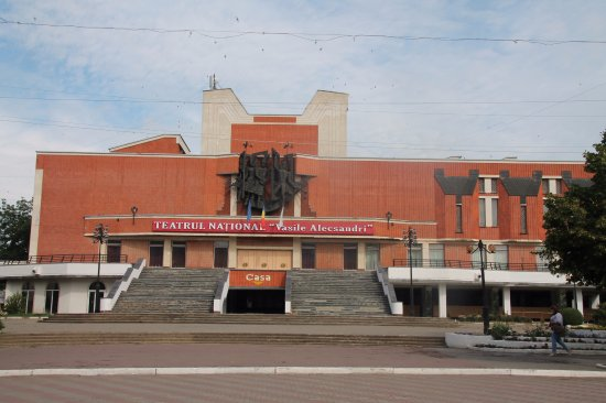Balti, Moldova: The national theatre