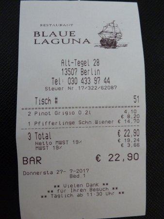 Ristorante Blaue Laguna, Berlin - Restaurant Reviews, Phone Number ...