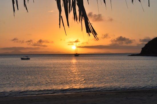 Great Keppel Island, Australia: Svendsens Beach from accomodation