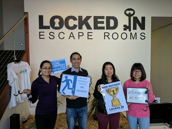 Locked in Escape Rooms