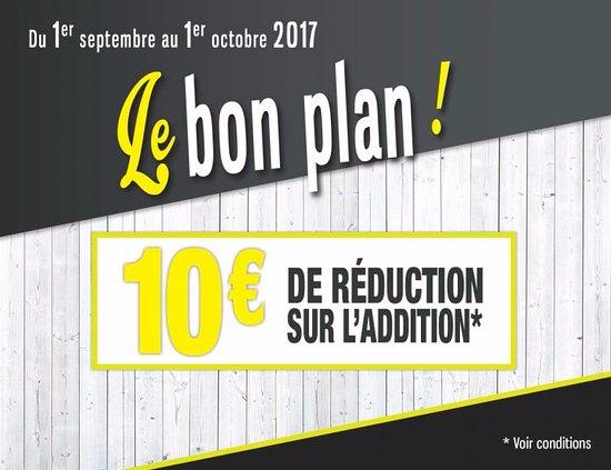 Jaux, França: Opération -10€ sur le mois de Septembre 2017