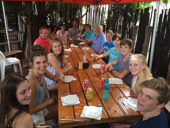 Kenton-on-Sea, Sydafrika: bush pub