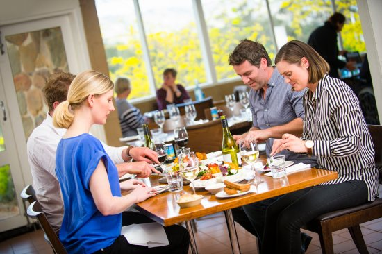Avenel, Australia: Shared platters featuring amazing regional produce at Fowles Wine cafe