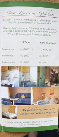 Schuttertal, Deutschland: Fantastisch Gasthof Schuttersblik goede bedden mooie kamer goed ontbijt heerlijke kalfsschnitzel