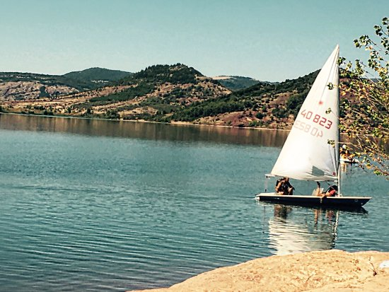 Herault, France: Le lac