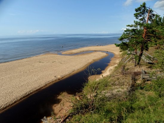 littoral baltique à Saulkrasti