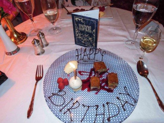 Hotel Riviera : My surprise pudding