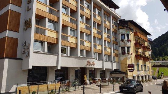 Hotel Stella: la facciata principale