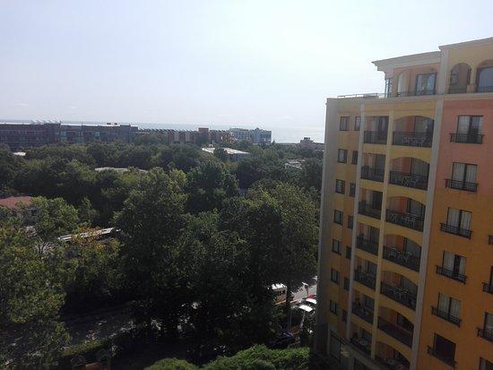 Paradise Green Park Hotel & Apartments : Parafie widok na morze